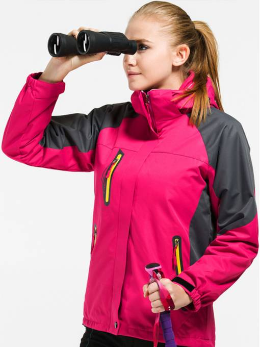 Waterproof Windproof Two-Piece Women's Outdoor Windbreaker