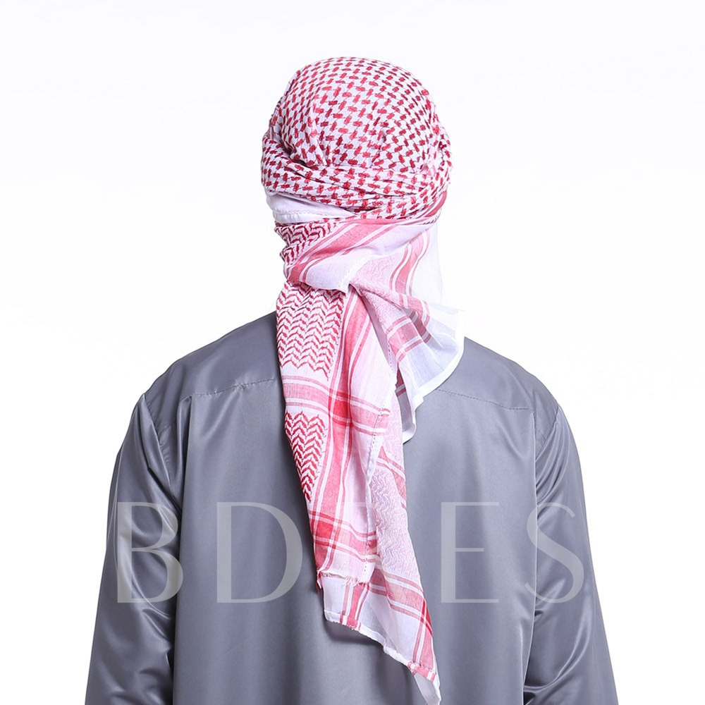 Vintage Warmth Muslim Men's Turban
