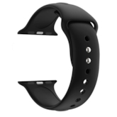 Smart Watches Band Monochrome Silicone Strap for Apple Watch