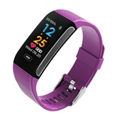 Smart Bracelet Ck18s Heart Rate Blood Pressure Monitoring Mtion Track Waterproof