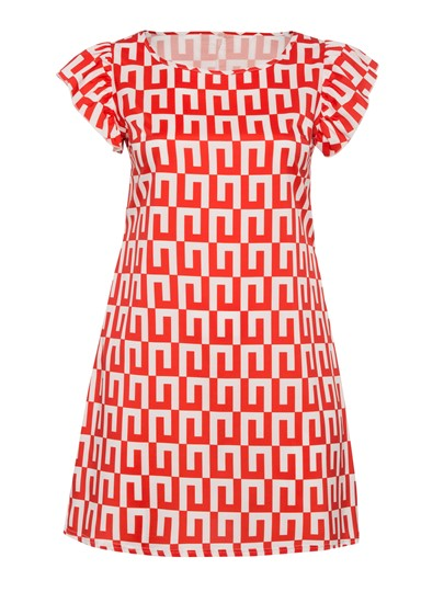 Plus Size Short Sleeve Pullover Women's Day Dress