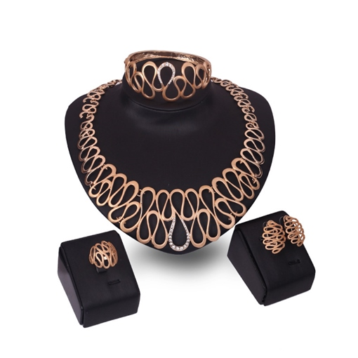 Hollow Out Eight-Shaped Jewelry Sets