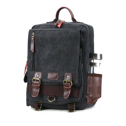 Waxed Canvas Waterproof Camera Backpack