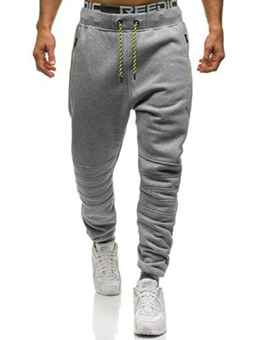 Lapel Loose Men's Sports Pants