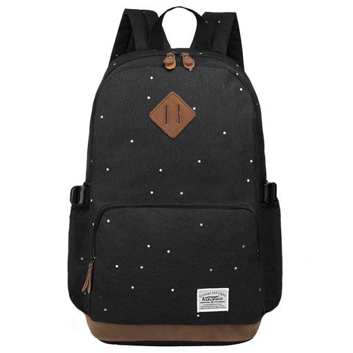Modern Style Polka Dots Computer Interlayer Backpack