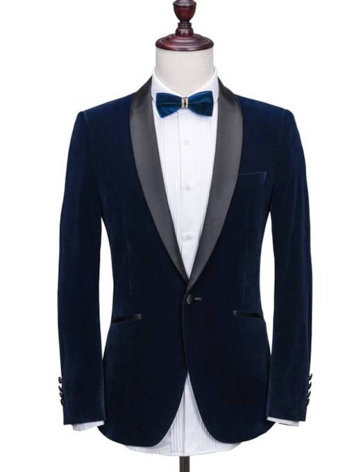 England Style Notched Collar Men's Dress Suit