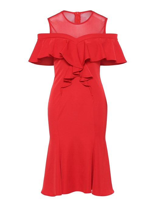 Round Neck Sleeveless Back Zip Women's Day Dress