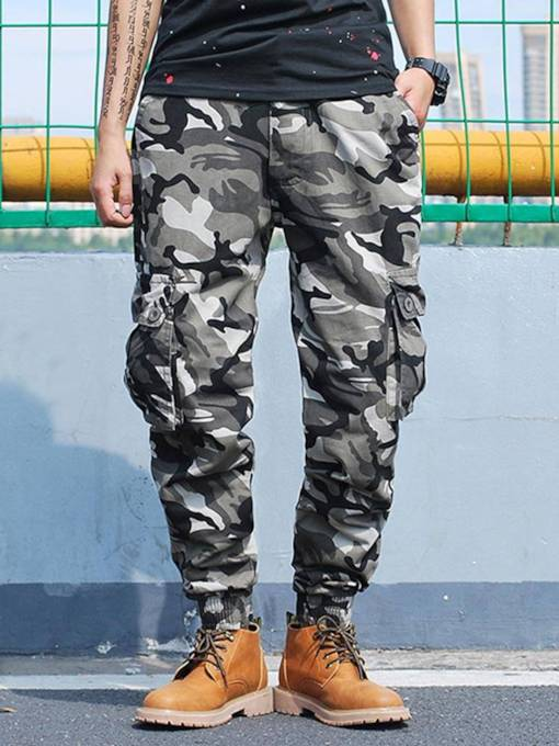 Camouflage Loose Men's Harem Pants