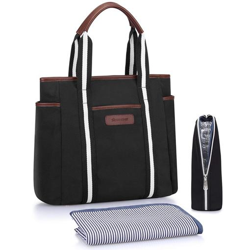 Plain Wear Resisting Canvas Mother's Diaper Bag