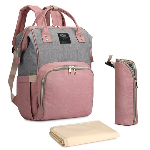 Canvas Color Block Wear Resisting Women's Backpack