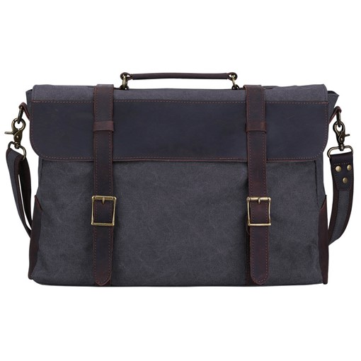 Casual Soft Plain Rectangle Men's Bag