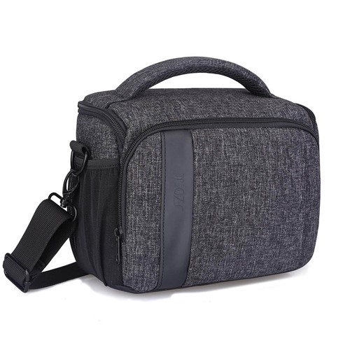 Canvas Wear Resisting Quake Proof Camera Bag