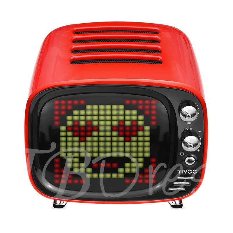 Divoom Tivoo LED Wireless Bluetooth Speaker Online Gallery Music Player