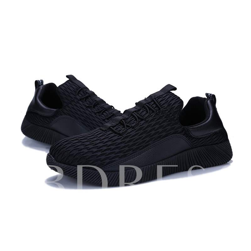 Buy Patchwork Mesh Chic Round Toe Men's Sneaker, Spring,Summer,Fall, 13335199 for $30.28 in TBDress store