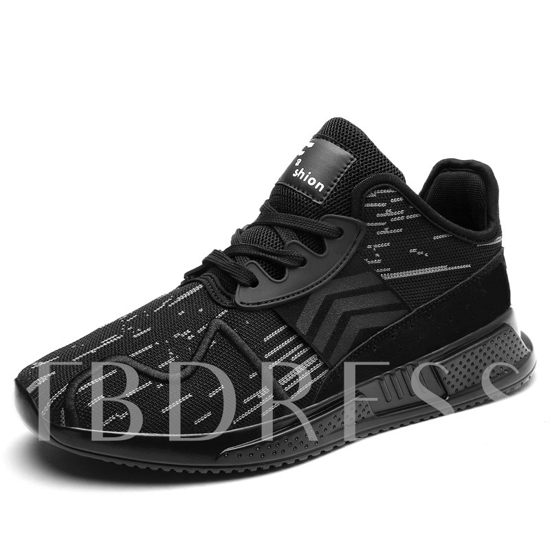 Buy Mesh Lace-Up Casual Round Toe Men's Sneaker, Spring,Summer,Fall, 13332896 for $40.87 in TBDress store