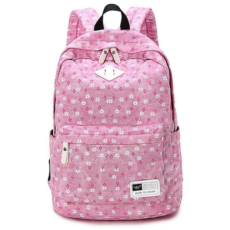 Casual Floral Prints Women Backpack