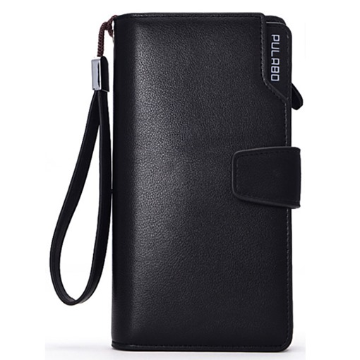 Multi-Card Slot Hasp Men's Wallet