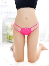 Hollow Bowknot Sexy Panty