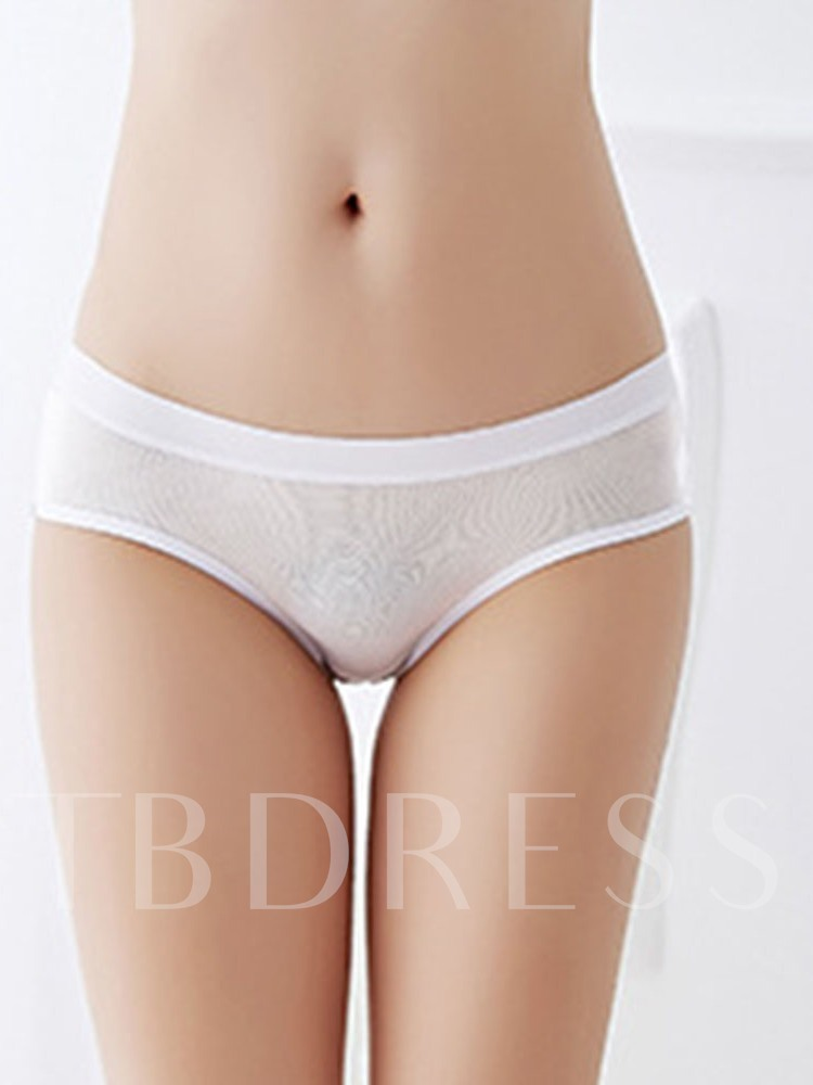 Open Crotch Bowknot Sexy Briefs for Women
