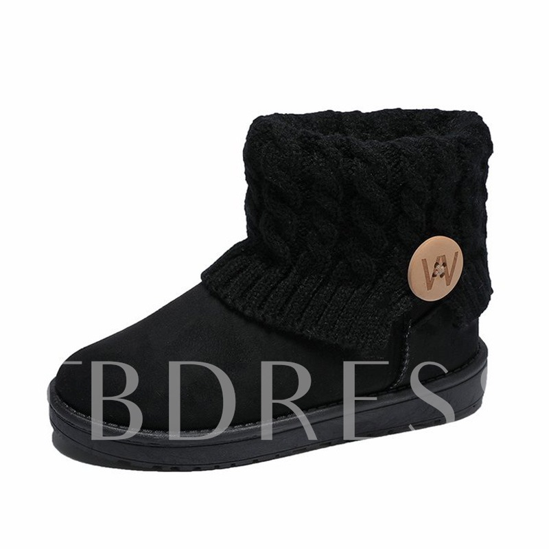 Buy Suede Slip-On Platform Round Toe Winter Snow Boots for Women, Fall,Winter, 13459538 for $31.89 in TBDress store