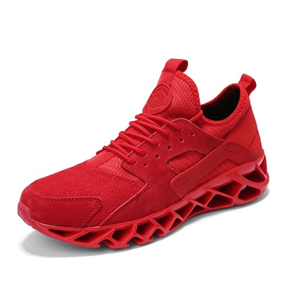 Lace-Up Round Toe Mid-Cut Upper Lightweight Mens Running Shoes Lace-Up Round Toe Mid-Cut Upper Lightweight Men's Running Shoes