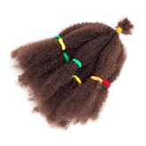 10 Inches Crochet Braid Hair Afro Kinky Curly Twist Marley Synthetic Braiding Hair