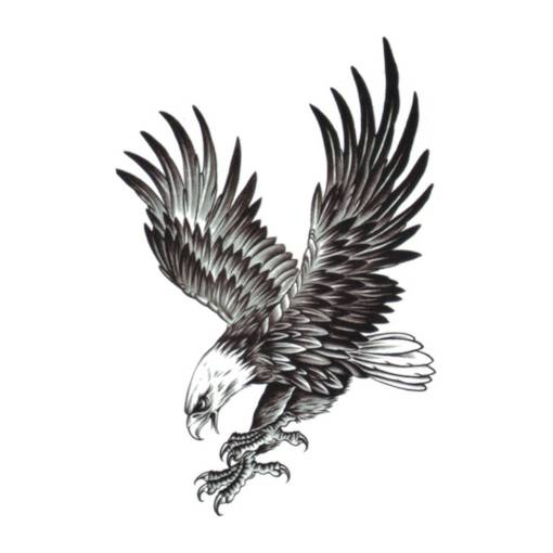 Eagle Brachial Tattoo Stickers