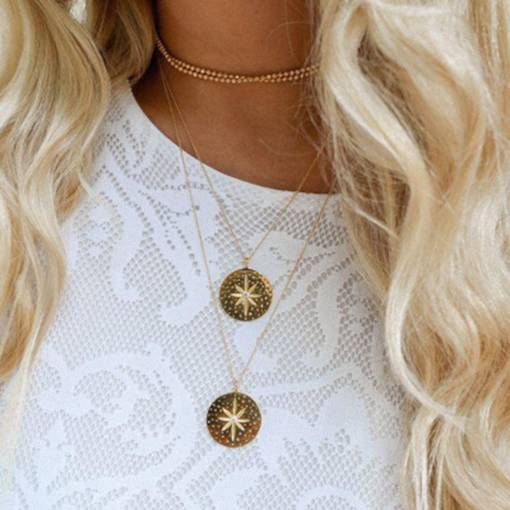 Bohemian Star Beads Multilayer Necklace