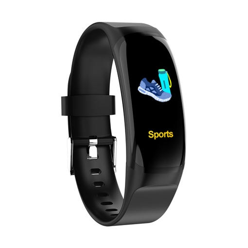 MK04 Color Screen Smart Bracelet Sports Step Blood Pressure