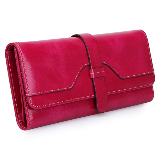 Modern Style Rectangle PU Women Wallet