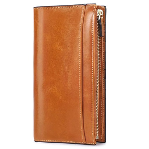 Fashion Rectangle Magnetic Snap Long Wallet