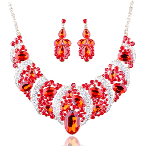 Dazzling Exaggerated Styles Jewelry Sets