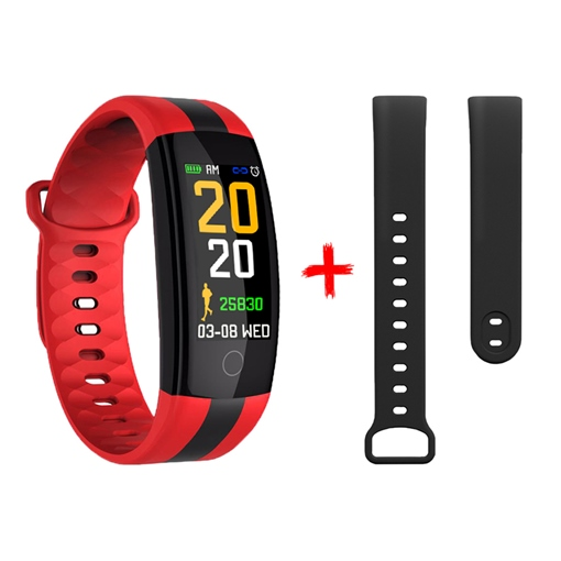 QS01 Waterproof Smart Bracelet Sports Step Counter Standby 15 Days