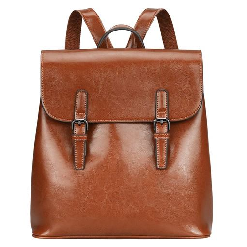 Modern Plain Casual Medium Backpack