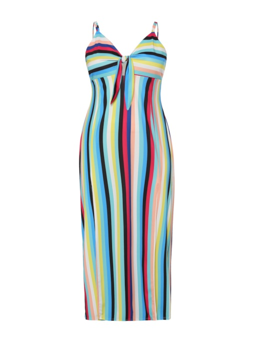 Plus Size Sleeveless Backless Sexy Maxi Dress