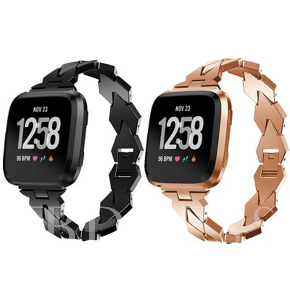 Smart Watch Metal Band for Fitbit Versa Diamond Chain Strap