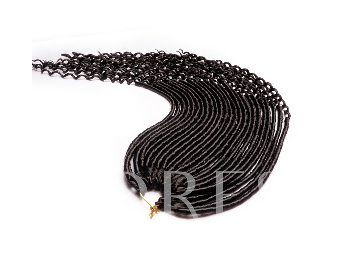 Synthetic Curly Ends Braids Crochet Twist Braiding Hair Extensions