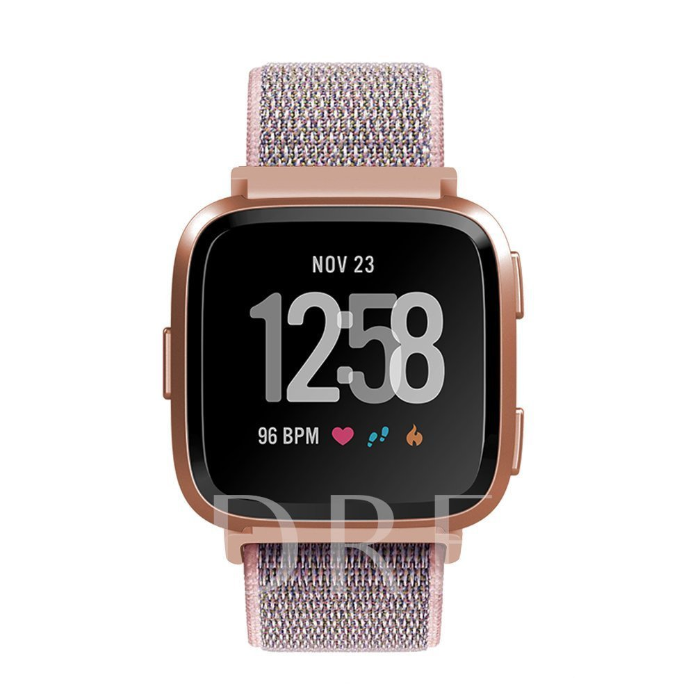 Smart Watch Band Nylon Loop Strap for Fitbit Versa