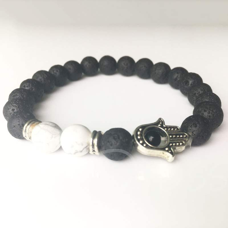 Fashion Volcanic Rocks Beads Bracelet