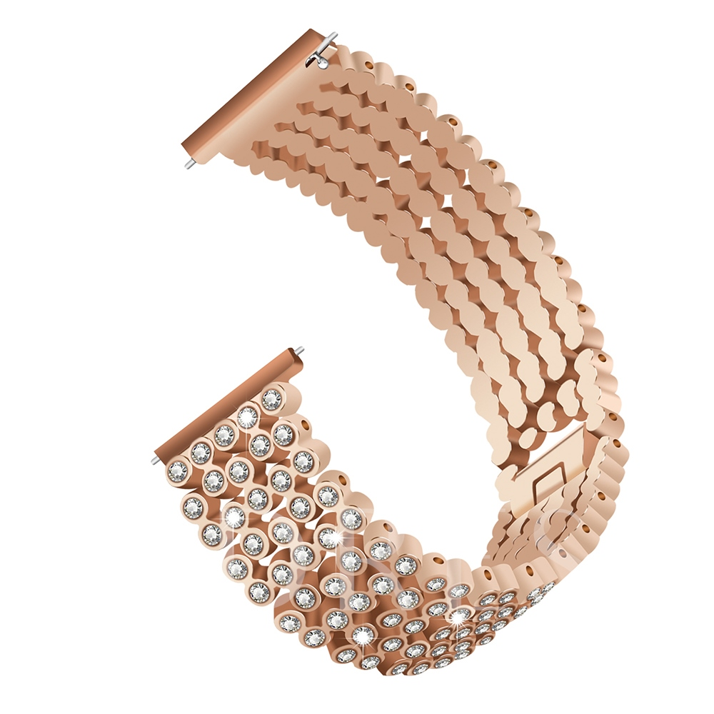 New Smart Watch Band Full Diamond-studded Strap With Drill