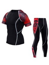 Short Sleeve Full Length Men's Cycling Suit