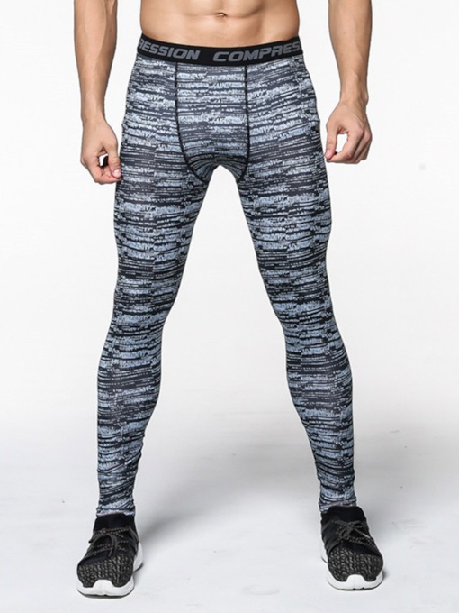 Stripe Breathable Anti-Sweat Men's Sports Pants