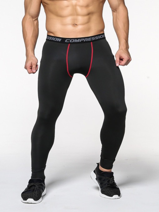 Tight Elasticity Quick Dry Men's Sports Pants