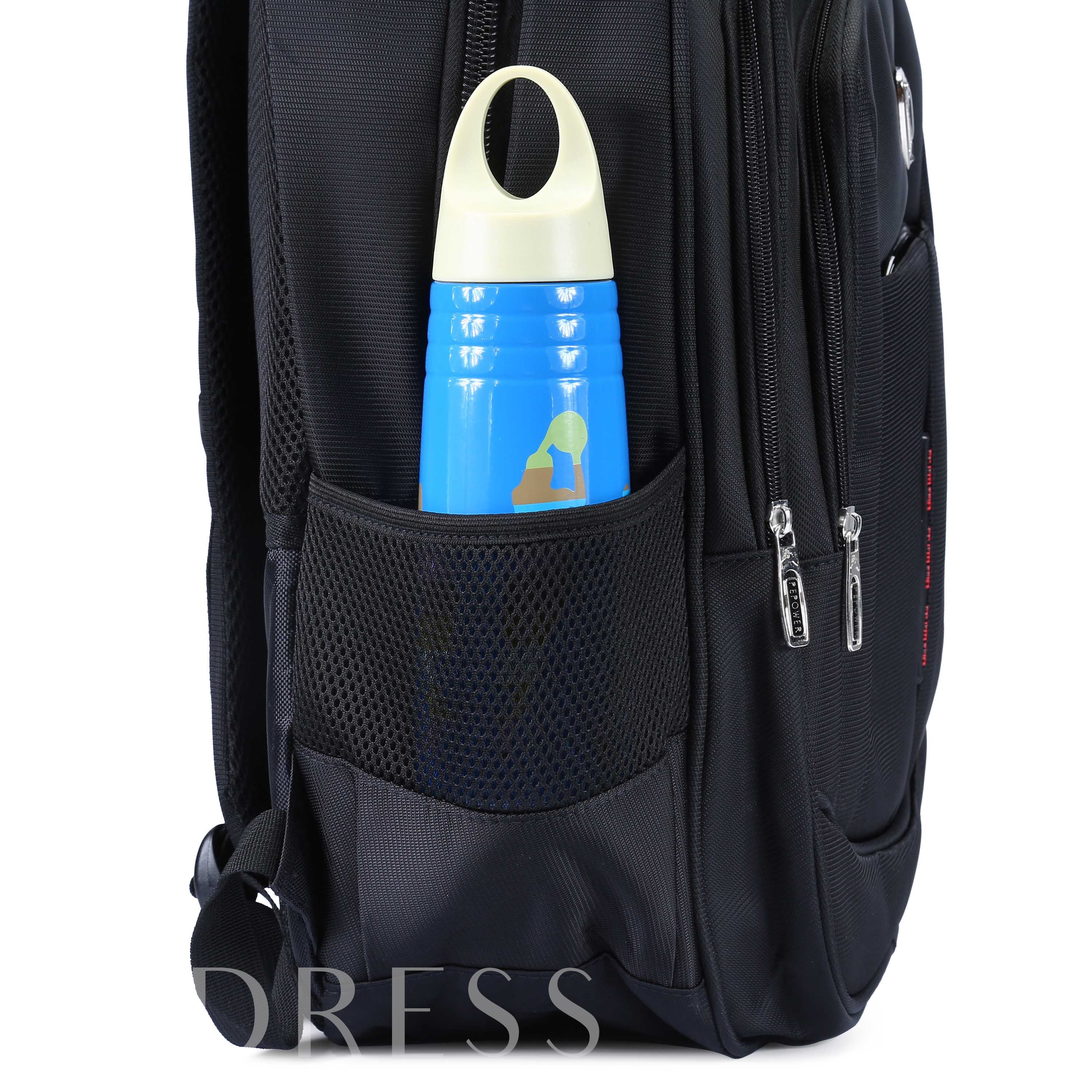 Office Polyester Plain Backpack Laptop Bags