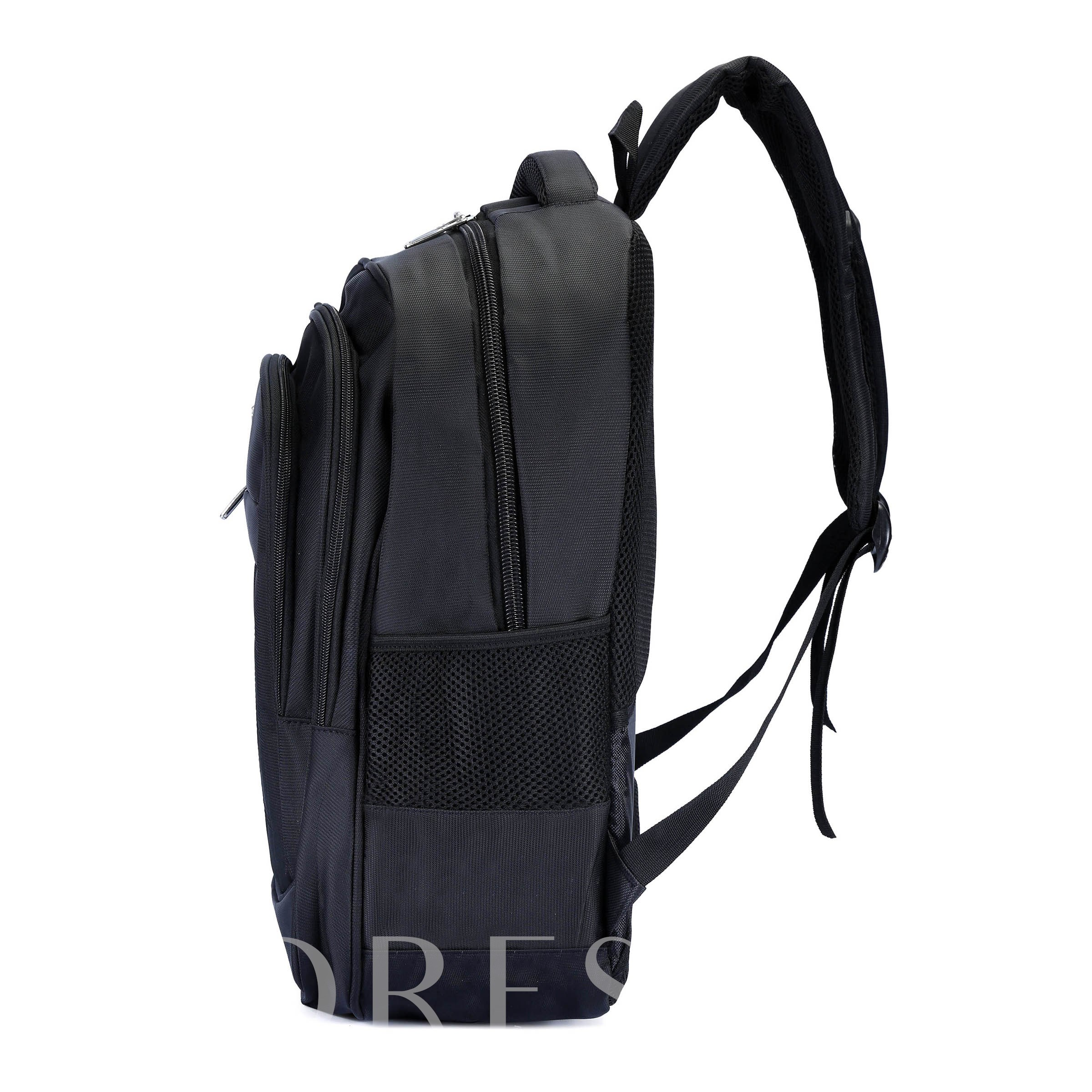 Polyester Plain Office Backpack Laptop Bags