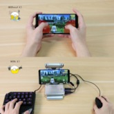GameSir X1 BattleDock Converter Keyboard and Mouse Adapter for Mobile Games