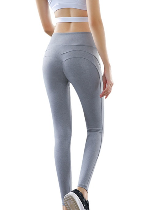 Plain Breathable Sports Leggings