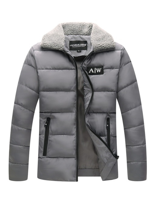 Lapel Slim Thick Men's Down Jacket
