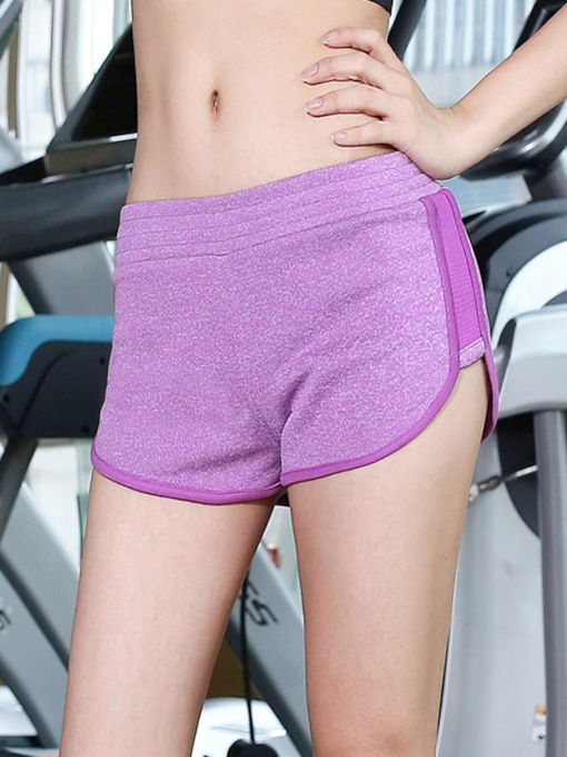 Breathable Solid Women's Sports Short