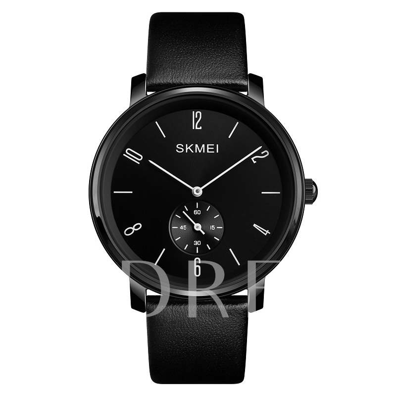 Round Glass Analog Display Quartz Men's Watches